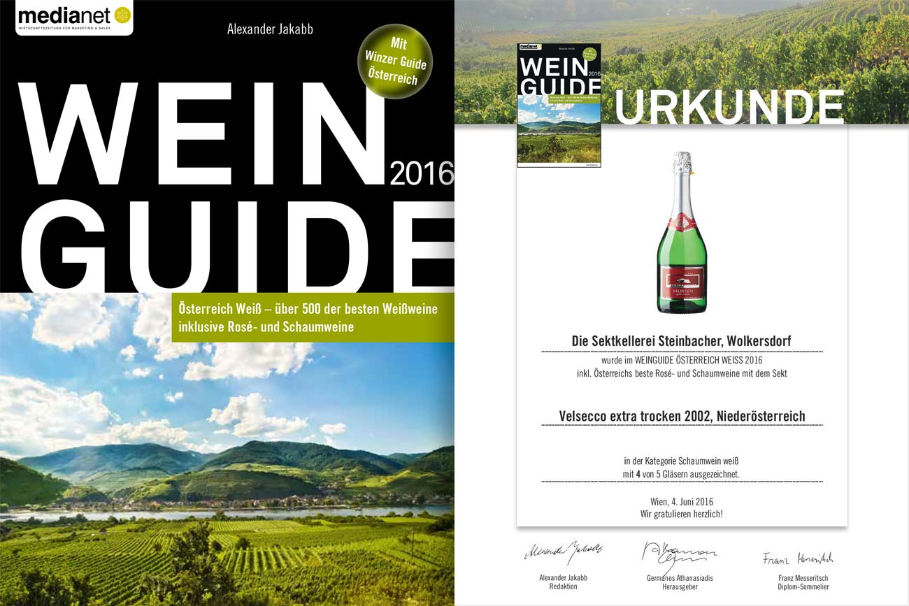 Urkunde Wine Guide 2016